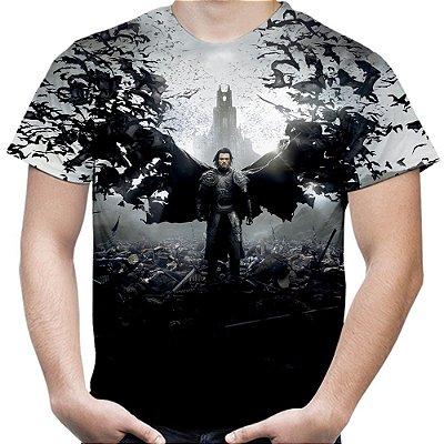 Camiseta Masculina Drácula Estampa Total