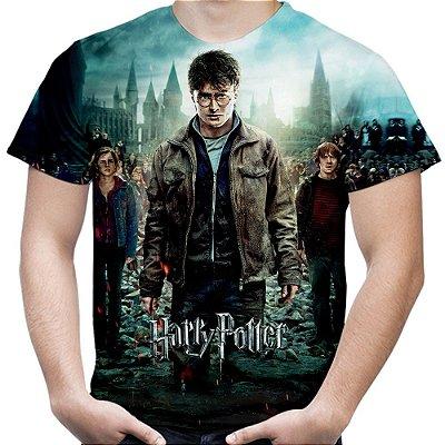 Camiseta Masculina Harry Potter Estampa Total Md03