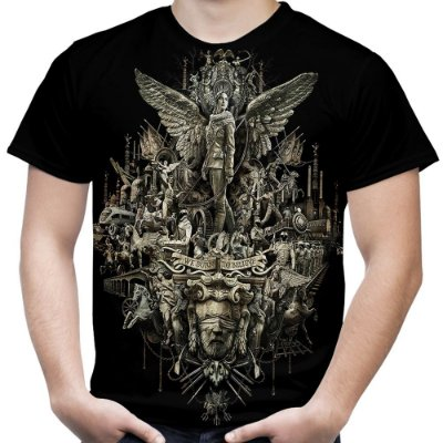 Camiseta Masculina Jogos Vorazes Estampa Total MD02