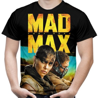 Camiseta Masculina Mad Max Estampa Total Md05