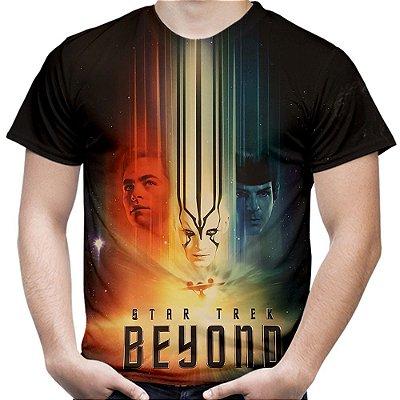 Camiseta Masculina Star Trek Estampa Total Md01