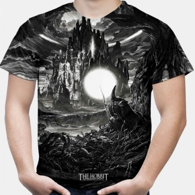 Camiseta Masculina O Hobbit Estampa Total Md01