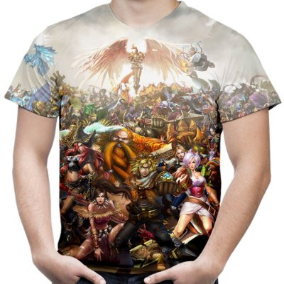 Camiseta Masculina League of Legends Estampa Total Md02