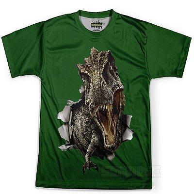 Camiseta Masculina T-Rex Estampa Total