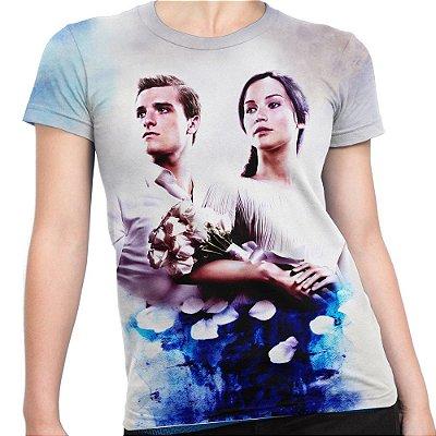 Baby look Feminina Jogos Vorazes The Hunger Games Total Md03