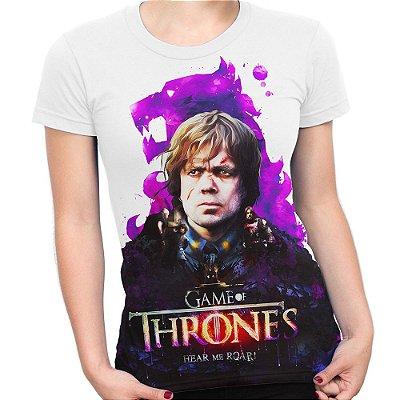 Baby look Feminina Game of Thrones Tyrion Lannister Estampa Total