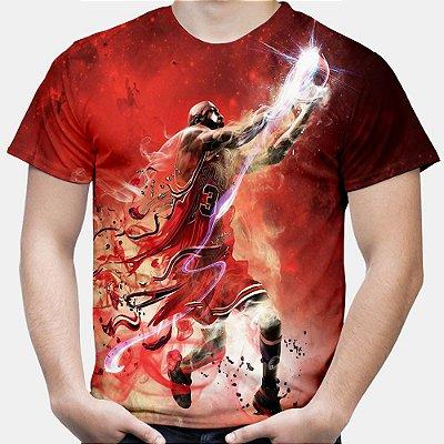 Camiseta Masculina Michael Jordan Estampa Total