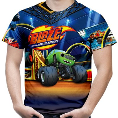 Camiseta Masculina Blaze And The Monster Machines