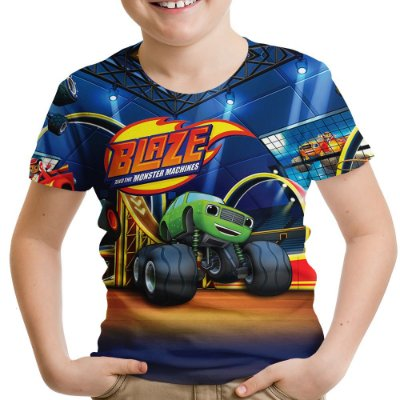 Camiseta Infantil Blaze And The Monster Machines
