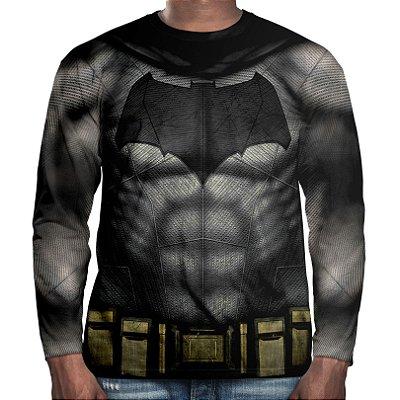Camiseta Manga Longa Masculina Batman Md02