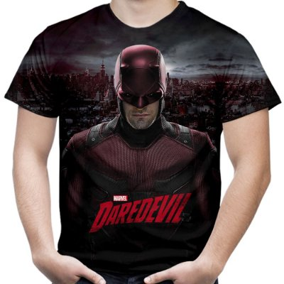 Camiseta Masculina Demolidor Daredevil Md04
