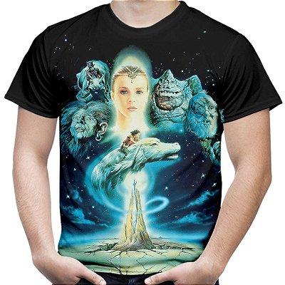 Camiseta Masculina A História Sem Fim Estampa Digital