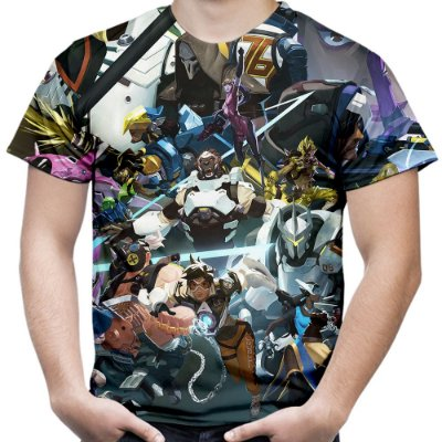 Camiseta Masculina Jogo Overwatch Over Watch Md6