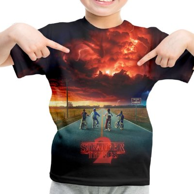 Camiseta Infantil série Stranger Things md02