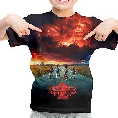 Camiseta Infantil série Stranger Things md02