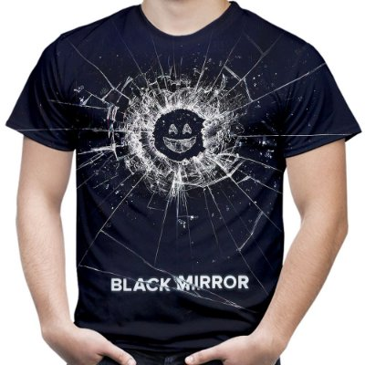 Camiseta Masculina Black Mirror