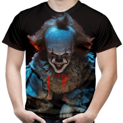 Camiseta Masculina It A Coisa Md02