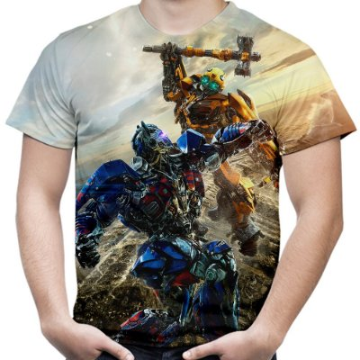 Camiseta Masculina Transformers MD02