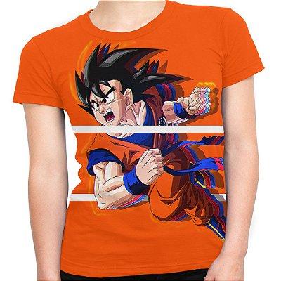 Baby look Feminina Goku Dragon Ball Super MD06