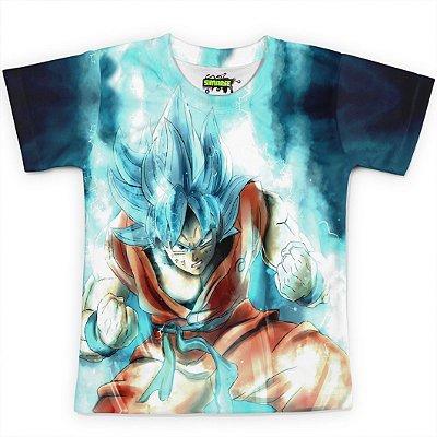 Camiseta Infantil Goku Dragon Ball Super MD08