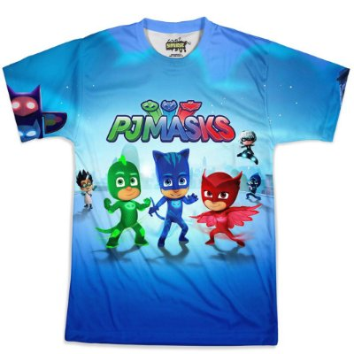 Camiseta Masculina PJ Masks Md01