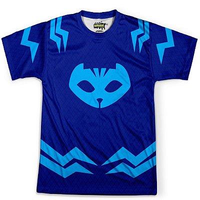 Camiseta Masculina Menino Gato PJ Masks