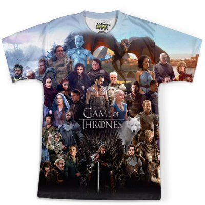 Camiseta Masculina Game Of Thrones MD06