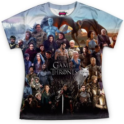 Baby look Feminina Game of Thrones Md06