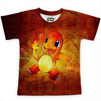 Camiseta Infantil Charmander Pokémon