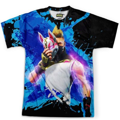 Camiseta Masculina Drift Fortnite