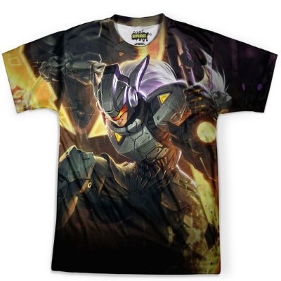 Camiseta Masculina Leona League Of Legends