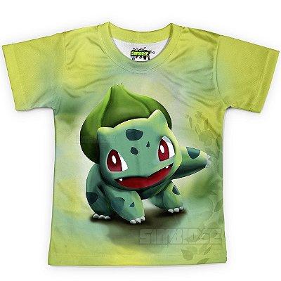Camiseta Infantil  Bulbassauro Pokémon