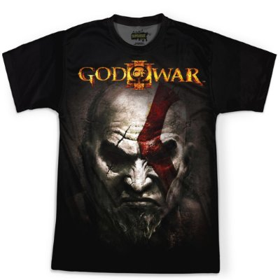 Camiseta Masculina God of War Md03