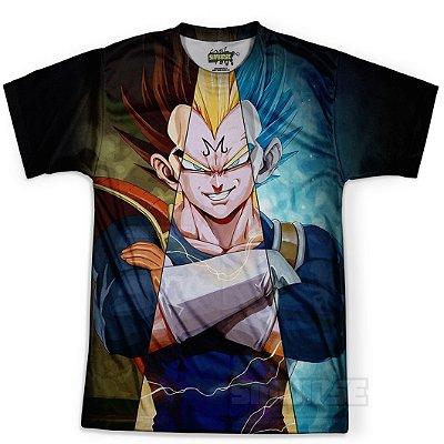 Camiseta Masculina Vegeta Dragon Ball MD12