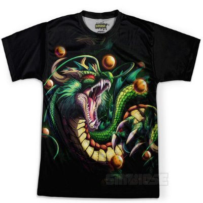 Camiseta Masculina Shenlong Dragon Ball Super MD13