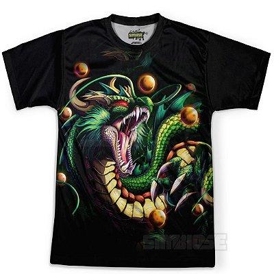 Camiseta Masculina Shenlong Dragon Ball Super MD13