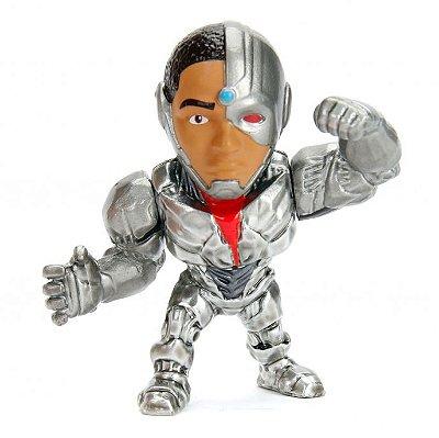 Boneco Cyborg  6 cm metals Die Cast Liga da Justiça DC M544