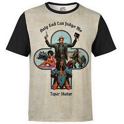 Camiseta masculina 2PAC Estampa Digital Tupac Shakur md02