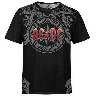 Camiseta masculina AC/DC Estampa Digital AC DC md06