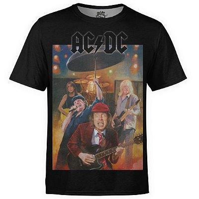 Camiseta masculina AC/DC Estampa Digital AC DC md09