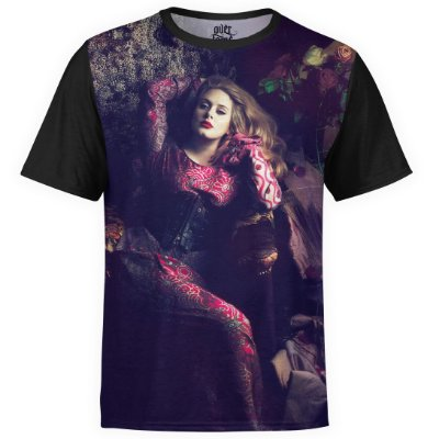 Camiseta masculina Adele Estampa Digital md02