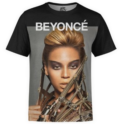 Camiseta masculina Beyoncé Estampa Digital md02