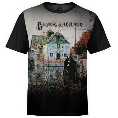 Camiseta masculina Black Sabbath Estampa Digital md01