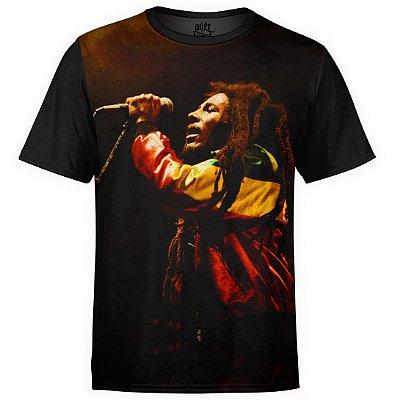 Camiseta masculina Bob Marley Estampa Digital md01