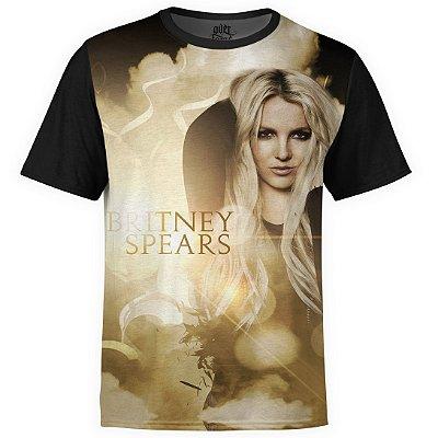 Camiseta masculina Britney Spears Estampa Digital md02