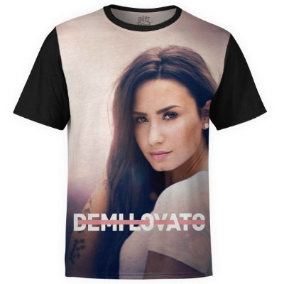 Camiseta masculina Demi Lovato Estampa digital md01