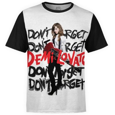 Camiseta masculina Demi Lovato Estampa digital md03