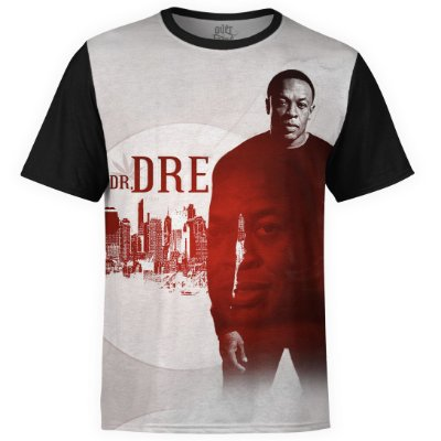 Camiseta masculina Dr. Dre Estampa digital md02