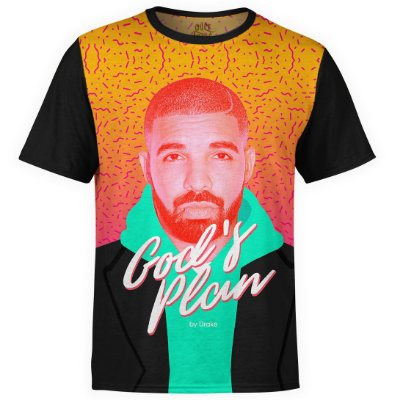 Camiseta masculina Drake Estampa digital md06