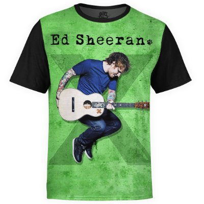 Camiseta masculina Ed Sheeran Estampa digital md02